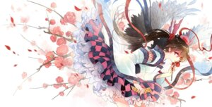 Rating: Safe Score: 46 Tags: himekaidou_hatate kieta touhou wings User: fairyren