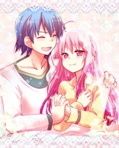 Rating: Safe Score: 15 Tags: angel_beats! hinata_(angel_beats!) kousetsu yui_(angel_beats!) User: Radioactive