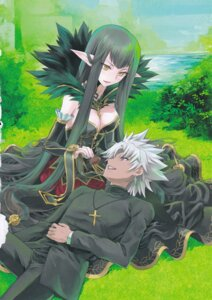 Rating: Questionable Score: 5 Tags: cleavage fate/apocrypha fate/stay_night pointy_ears semiramis_(fate) shirotsumekusa shirou_kotomine_(fate/apocrypha) User: Radioactive