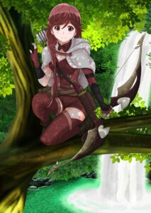 Rating: Safe Score: 47 Tags: hai_to_gensou_no_grimgar thighhighs weapon yume_(grimgar) User: RyuZU