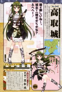 Rating: Questionable Score: 13 Tags: armor cleavage gun hanasaki_manio japanese_clothes shirohime_quest torn_clothes User: drop