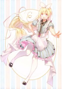 Rating: Safe Score: 45 Tags: alice alice_in_wonderland dress dsmile pantyhose possible_duplicate tsundere_is_love User: charunetra