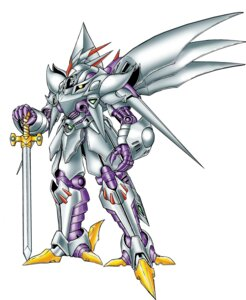 Rating: Safe Score: 2 Tags: cybuster mecha super_robot_wars sword User: Radioactive
