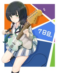 Rating: Safe Score: 26 Tags: guitar seifuku shirobako shouju_ling yasuhara_ema User: saemonnokami