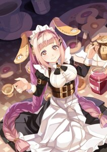 Rating: Safe Score: 32 Tags: animal_ears bunny_ears kaku-san-sei_million_arthur maid selenoring User: Mr_GT