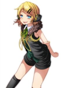 Rating: Safe Score: 19 Tags: headphones kagamine_rin tsukishiro_saika vocaloid User: charunetra
