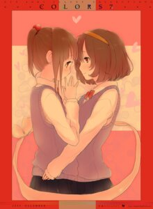 Rating: Safe Score: 20 Tags: aoki_shin seifuku yuri User: Radioactive