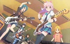 Rating: Safe Score: 36 Tags: animal_ears guitar nekomimi tateishi_kiyoshi thighhighs User: VinnieSalmonella