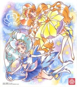 Rating: Safe Score: 4 Tags: amanogawa_kirara go!_princess_pretty_cure heels kaidou_minami pretty_cure skirt_lift tagme thighhighs User: drop