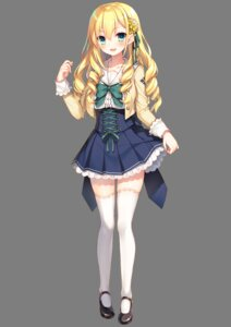 Rating: Safe Score: 44 Tags: kawaguchiko_takami onsen_musume seifuku skirt_lift thighhighs toosaka_asagi transparent_png User: saemonnokami