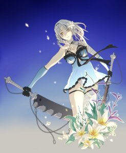Rating: Safe Score: 35 Tags: aiura_haruichi bandages kaine_(nier) nier nier_(character) pantsu sword User: Radioactive