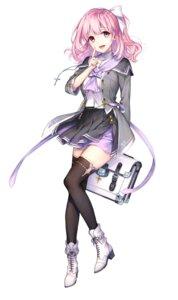 Rating: Safe Score: 64 Tags: heels kaguyuzu onsen_musume seifuku thighhighs unzen_inori User: saemonnokami