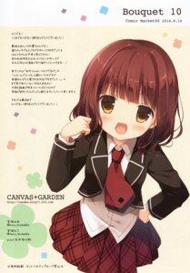 Rating: Safe Score: 40 Tags: anne_happy canvas+garden hagyuu_hibiki miyasaka_nako seifuku User: yu33960