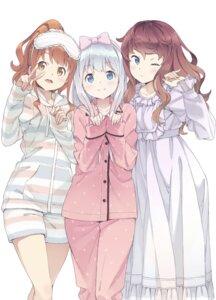 Rating: Safe Score: 47 Tags: dress eromanga-sensei izumi_sagiri jinno_megumi kanzaki_hiro pajama tagme User: kiyoe
