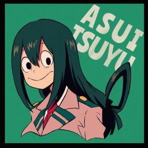 Rating: Safe Score: 5 Tags: asui_tsuyu boku_no_hero_academia seifuku sheru_maru. User: charunetra