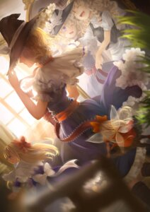 Rating: Safe Score: 32 Tags: alice_margatroid jyuui kirisame_marisa shanghai touhou wings witch User: Mr_GT