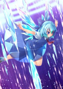 Rating: Safe Score: 16 Tags: cirno dress kokka_han see_through touhou wings User: Mr_GT