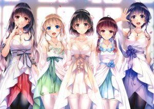 Rating: Safe Score: 483 Tags: cleavage dress hashima_izumi hyoudou_michiru kasumigaoka_utaha katou_megumi misaki_kurehito saenai_heroine_no_sodatekata sawamura_spencer_eriri thighhighs User: Twinsenzw