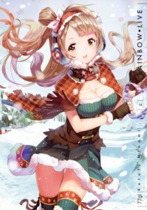 Rating: Safe Score: 70 Tags: 77gl cleavage dress love_live! minami_kotori thighhighs User: yong