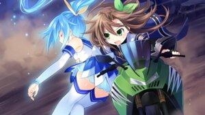 Rating: Safe Score: 24 Tags: choujigen_game_neptune game_cg hatsumi_sega if_(choujigen_game_neptune) thighhighs tsunako User: Nepcoheart