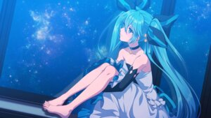 Rating: Safe Score: 21 Tags: dress feet hatsune_miku matsuda_toki vocaloid wallpaper User: charunetra