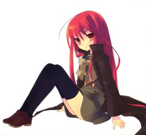 Rating: Safe Score: 23 Tags: ito_noizi scanning_resolution screening seifuku shakugan_no_shana shana thighhighs User: 月无名