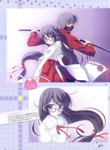 Rating: Safe Score: 14 Tags: megane miko nanao_naru seifuku User: fireattack