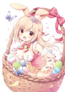 Rating: Safe Score: 25 Tags: animal_ears bunny_ears canvas+garden cleavage dress miyasaka_nako summer_dress tagme User: lightsnow