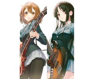 Rating: Safe Score: 17 Tags: akiyama_mio guitar hirasawa_yui k-on! pantyhose pro-p seifuku User: Dreista