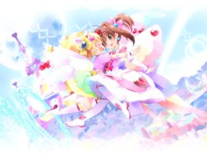 Rating: Safe Score: 9 Tags: harepore jewelpet jewelpet_twinkle miria_marigold_mackenzie sakura_akari thighhighs wallpaper yuri User: 23yAyuMe