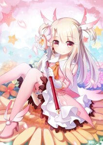 Rating: Safe Score: 72 Tags: dress fate/kaleid_liner_prisma_illya fate/stay_night heels illyasviel_von_einzbern tagme thighhighs weapon User: Nepcoheart
