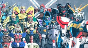 Rating: Safe Score: 5 Tags: g_gundam gundam mecha okawara_kunio User: DDD