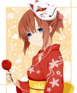 Rating: Safe Score: 17 Tags: higurashi_no_naku_koro_ni kitsune nemu_(artist) ryuuguu_rena yukata User: SubaruSumeragi