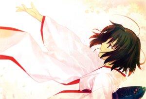 Rating: Safe Score: 21 Tags: kara_no_kyoukai kimono ryougi_shiki takeuchi_takashi type-moon User: fireattack