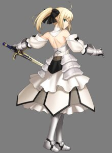 Rating: Safe Score: 46 Tags: armor dress fate/stay_night fate/unlimited_codes higurashi_ryuuji saber saber_lily sword transparent_png type-moon User: Share