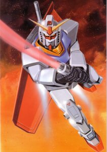 Rating: Safe Score: 1 Tags: gundam mecha mobile_suit_gundam okawara_kunio rx-78-2_gundam User: Radioactive