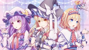 Rating: Safe Score: 21 Tags: alice_margatroid dtvisu kirisame_marisa patchouli_knowledge touhou weapon witch User: Mr_GT