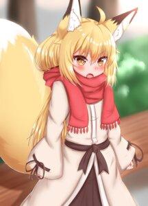 Rating: Safe Score: 8 Tags: animal_ears horokusa kitsune tail User: dick_dickinson
