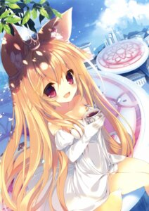 Rating: Safe Score: 61 Tags: animal_ears dress p19 User: Twinsenzw