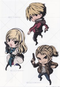 Rating: Safe Score: 8 Tags: chibi reanbell resonance_of_fate vashyron zephyr_(resonance_of_fate) User: Radioactive