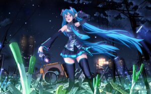 Rating: Safe Score: 9 Tags: hatsune_miku inumaru vocaloid wallpaper User: yumichi-sama