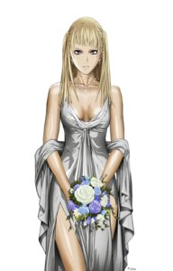 Rating: Safe Score: 14 Tags: claymore cleavage dietrich dress vector_trace yagi_norihiro User: biohazard777