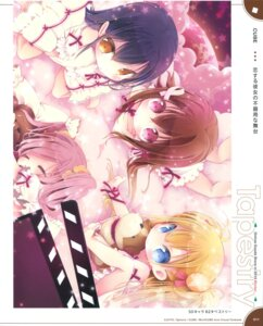 Rating: Questionable Score: 31 Tags: chibi dress koi_suru_kanojo_no_bukiyou_na_butai mitaonsya User: Twinsenzw