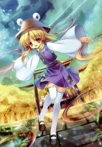 Rating: Safe Score: 32 Tags: capura.l eternal_phantasia moriya_suwako thighhighs touhou User: midzki