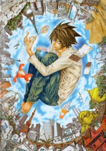 Rating: Safe Score: 10 Tags: death_note l male obata_takeshi User: Radioactive