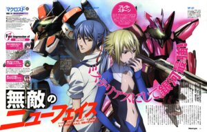 Rating: Safe Score: 3 Tags: brera_sterne kadonosono_megumi macross macross_frontier male mecha saotome_alto vf_valkyrie User: Radioactive
