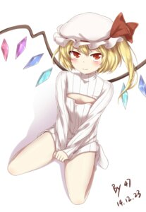 Rating: Safe Score: 24 Tags: 00047 cleavage flandre_scarlet sweater touhou wings User: Zenex