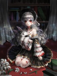 Rating: Safe Score: 48 Tags: blood dress gothic_lolita lolita_fashion pointy_ears weapon zonekiller10 User: Mr_GT