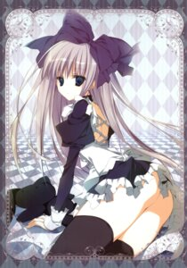 Rating: Questionable Score: 38 Tags: 13 alice_(13) inugami_kira lolita_fashion nopan thighhighs User: crim