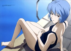 Rating: Questionable Score: 36 Tags: ayanami_rei neon_genesis_evangelion sasaki_atsuko school_swimsuit swimsuits User: vkun